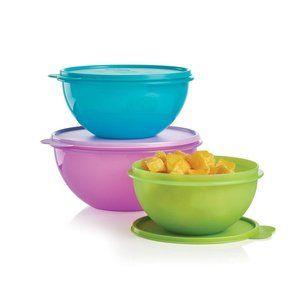 Tupperware Wonderlier Bowl 3-Pc. Set NWOT